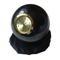 Sphere Shungit, shungite, schungite, polished 100mm with WATCH.