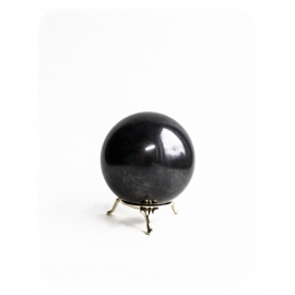 Sphere Shungit, shungite, schungite polished 30mm