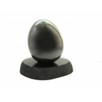 Egg Shungit, shungite, schungite, shungites, gemstone polished 60mm