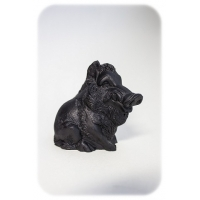 "The figure of mineral shungite ""Big Bear"""
