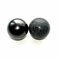 Sphere harmonizers (shungite and steatite)