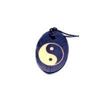 "Pendent "" Yin Yang (oval)  """