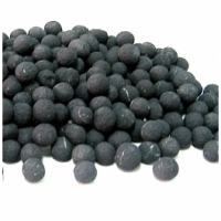 Unpolished beads for massage of feet