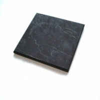 Shungite Unpolished Tile 10x10 cm