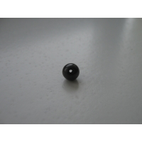 Bead of shungite 8 mm with hole, schungite, shungit