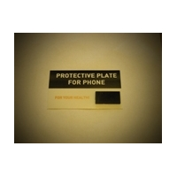 Polished round plate for cell phone 19mm