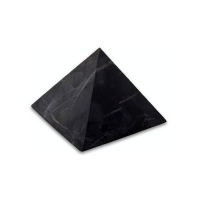 Pyramid 40x40mm unpolished Shungit, shungite, schungite