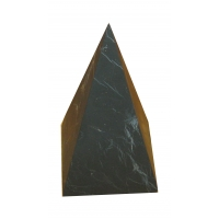 Shungite High pyramid unpolished 100x100mm
