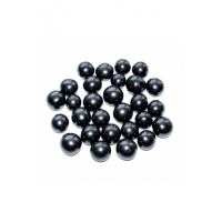 Placer of beads (polished beads without holes)