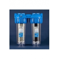 Inline Double-circuit Water Filter (Shungite,zeolite)