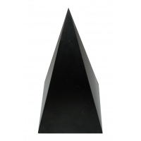 Shungite, shungit, schungit High pyramid polished 100x100x200mm