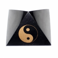 Polished pyramids with Feng Shui symbols 100mm X100mm