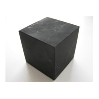 Cube 20x20 mm unpolished shungite schungite